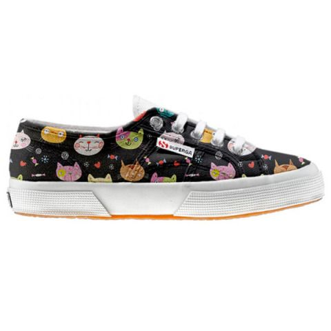 Shoe Superga cutomized Little Kitten