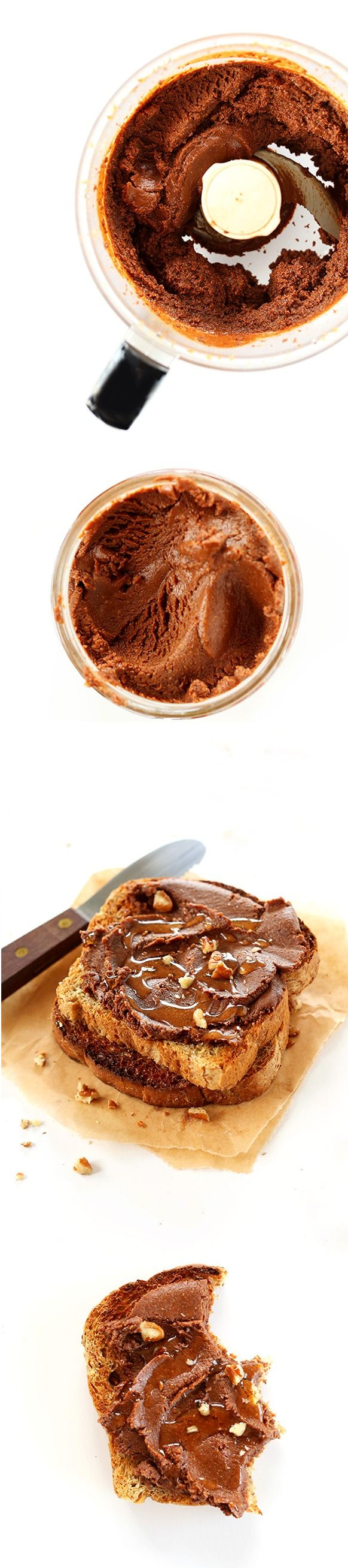 Brownie Batter Spread! So easy and delicious and taste JUST like a brownie in spread form! #vegan #glutenfree 6 ingredients!