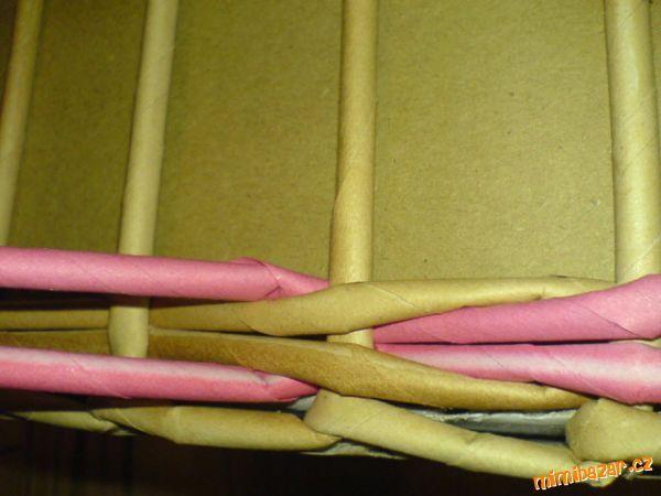 Цепочки вязки из четырех ruliček