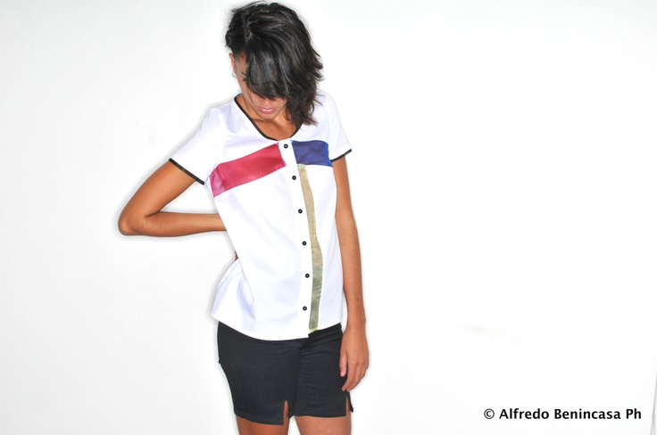 Plexi Shirt_ HanselGreetl Poplin Cotton and Silk Organza Shirt