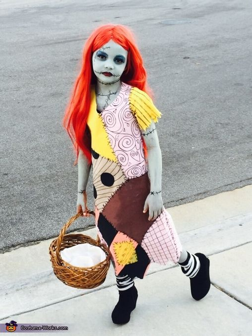 Sally from Nightmare Before Christmas DIY - 2015 Halloween Costume Contest via @costume_works