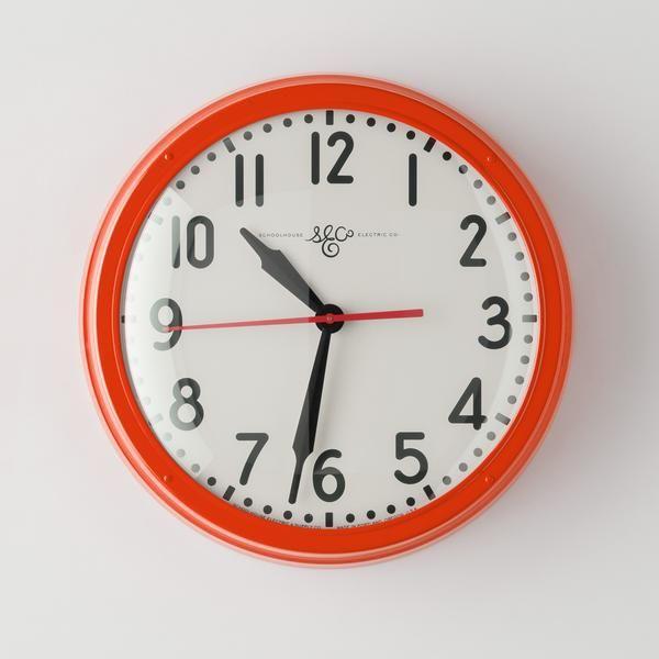 Schoolhouse Electric Clock | Schoolhouse Electric