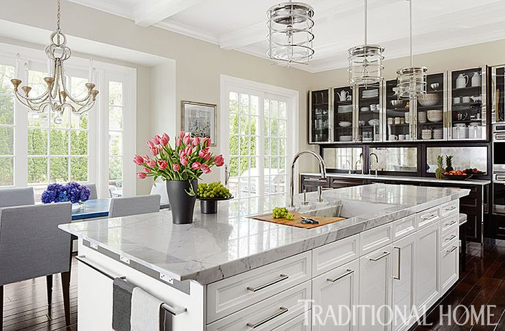 Gorgeous Kitchen Renovation By Mick De Giulio Features Our