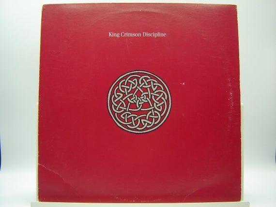 King Crimson Discipline Lp Warner Bros 1981 Vintage Vinyl Lp Record Album Warnerbros In 2020 King Crimson Warner Bros Vinyl