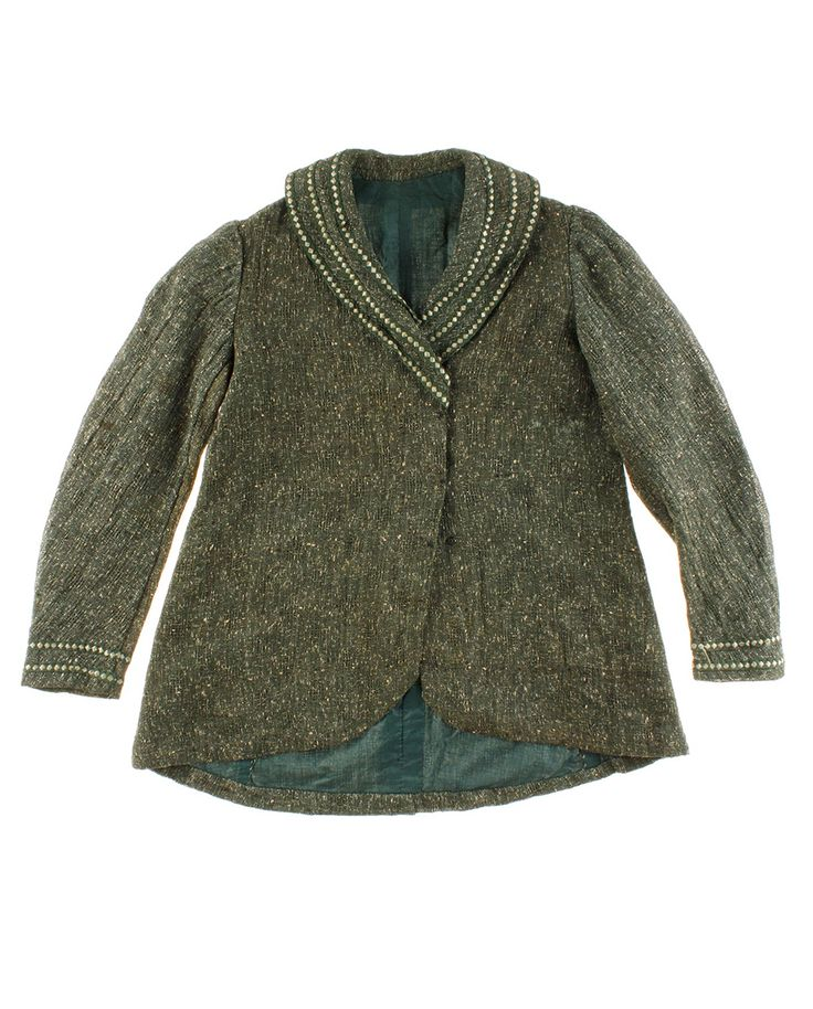 Antique and #vintageWomen'sClothing http://www.madeinused.com/product/jacket-late-19th-century-2/