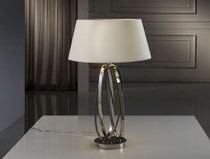 Lampade da tavolo di metallo : Modello OVALOS Hueso