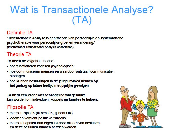 Wat is Transactionele Analyse (TA)?