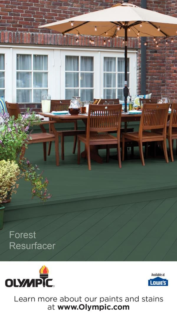 Forest Deck Patio Resurfacer Colors Pinterest Stain Stains And