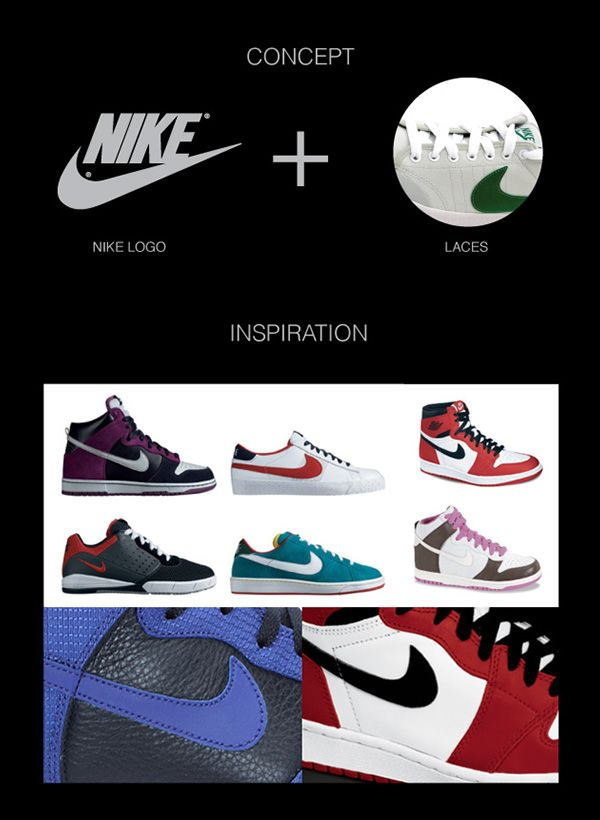 NIKE Laces on Behance