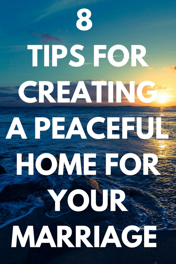 Use these great tips to create a peaceful home environment for your marriage and family. #peaceful #home #environment #marriage #couples #wife #husband #family