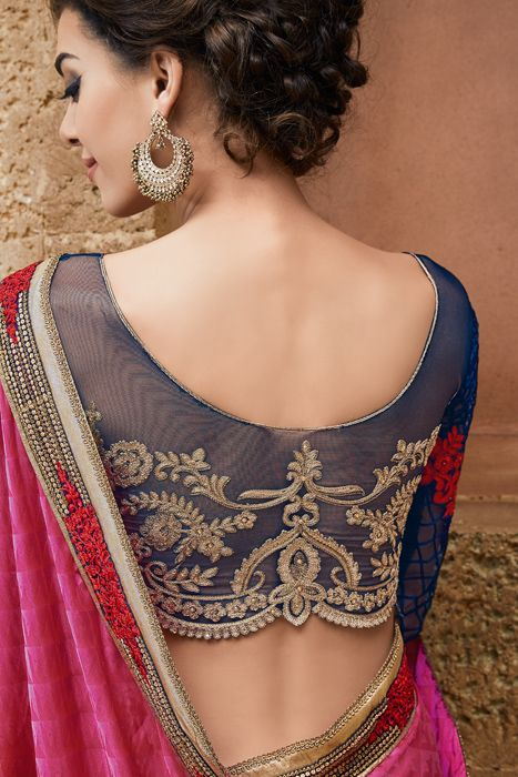 To Be Beautiful Means To Be Yourself, Get Gorgeous With This Amazing Collection @http://sugnamal.com/category/?cat=Shop+Women&&subcat=Sarees #Fashion_at_sugnamal #saree #fashion #party #marriage #wedding #lehenga #kids_wear #indian #shop_online #bride #desi #new_arrival #festive_season #chritmas #shop_from_india #traditional #half_saree #ethnic #couture #shaadi_designer #salwaar_kameez #quality #desi_fashion #dress #gown #long_dress #indan_collection #bridal_collection #baara #blue #peach…