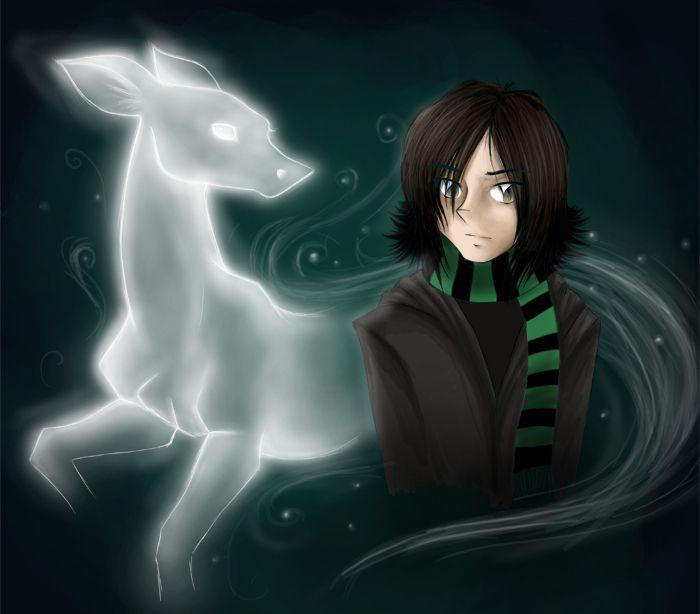 Severus Snape Fan Art   Severus Snape Snape's patronus