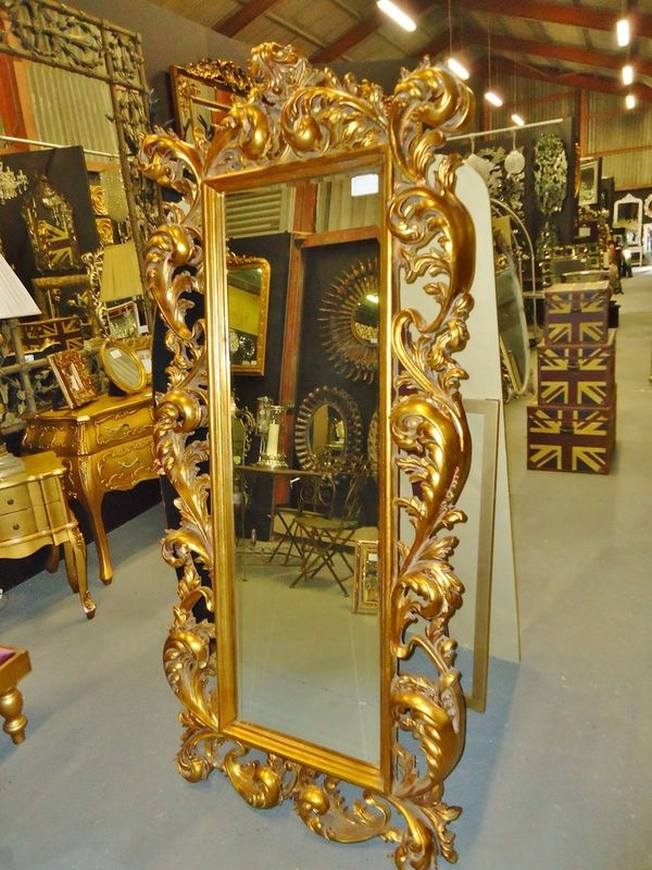 14 best images about rococo period mackenzie douglas on for Big gold mirror