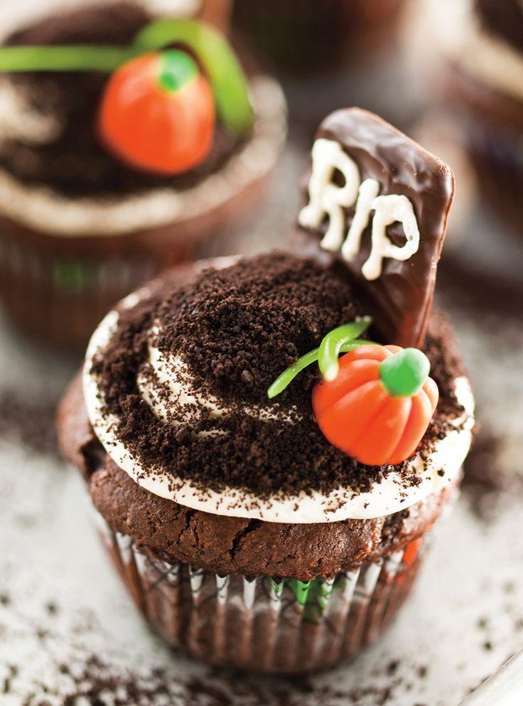 Recette de Ricardo de cupcakes cimetière