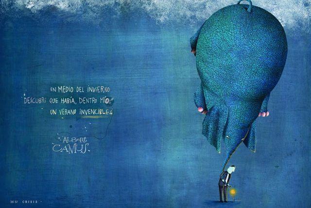 """Ilustración de Pablo Bernasconi para la nueva entrada al blog """"Comprender que mi hijo tiene autismo"""""""