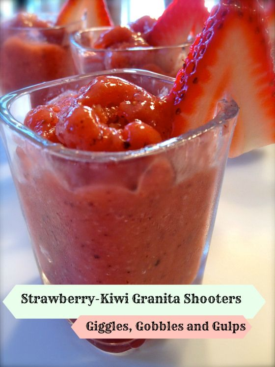 With a few simple steps, you can make these Strawberry-Kiwi Granita ...