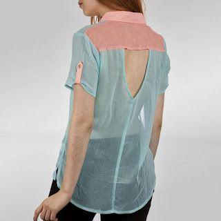 El Rincon De Celestecielo: Trazar cola de pato en espalda de blusa. Parte 2