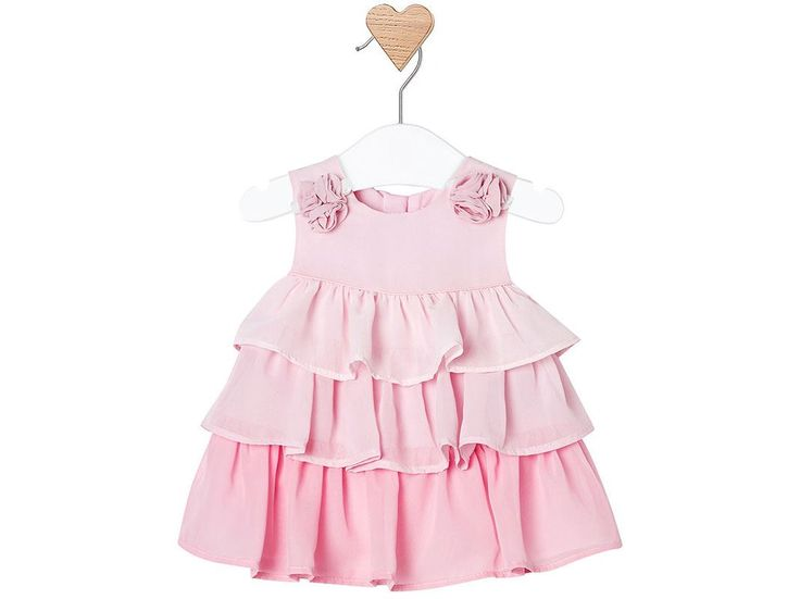 Cerchi un vestito per il battesimo della tua bimba? Questo abitino Mayoral, disponibile in rosa e turchese, in diverse taglie, è l'outfit elegante adatto ad una cerimonia! Lo trovi qui: http://ndgz.it/vestiti-cerimonia  #vestiti #battesimo #bambini