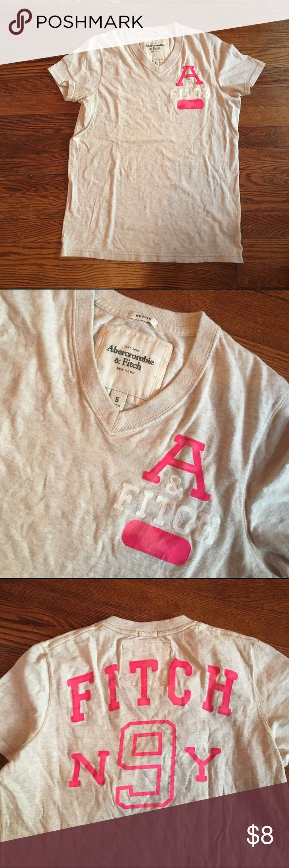 A & F tshirt Old style Abercrombie and Fitch tshirt. Abercrombie & Fitch Tops Tees - Short Sleeve