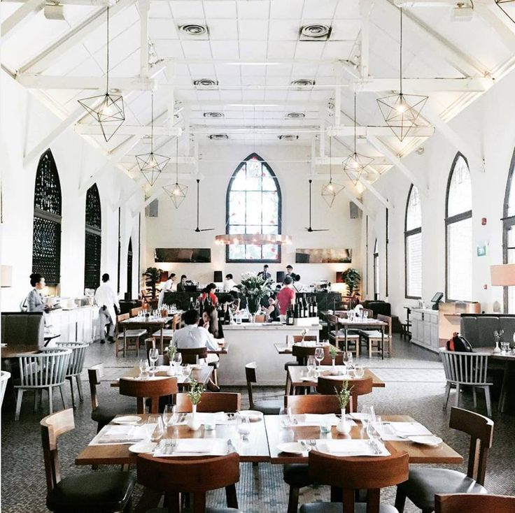 Housed in a restored 1930s Ebenezer chapel, The White Rabbit is a beautiful combination of intricate design, old-world charm, and European comfort food. Inspired by the classic novel Alice in Wonderland, the restaurant and bar with its green surroundings and rich history will take you down the rabbit hole into a world of whismy and wonder.  Photo by @lohsherlyn on Instagram.