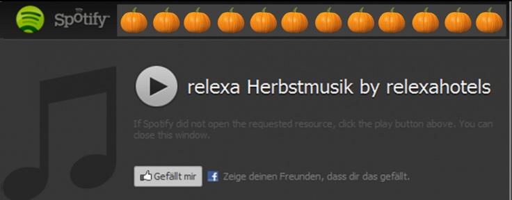 Auf die Ohren! Die relexa Herbstmusik gegen den Herbstblues.