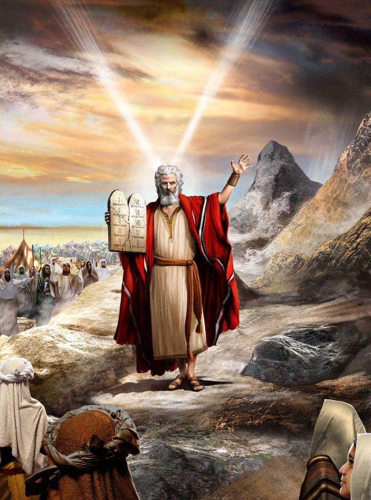 Moises y los diez mandamientos | Personajes bíblicos