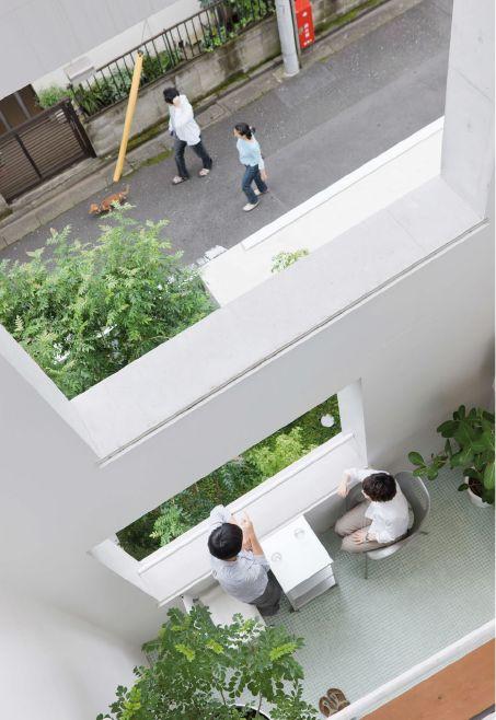 Nerima Apartment. Go Hasegawa & Associates   Tokio 2010 : Future Living Gemeinschaftliches Wohnen in Japan