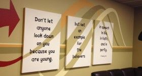 Youth Ministry Room Wall Design: Youth Ministry Rooms, Youth Group Rooms, Rooms Wall, Teen Rooms, Youth Rooms, Rooms Ideas, Cool Ideas, Wall Design, Youthgroup