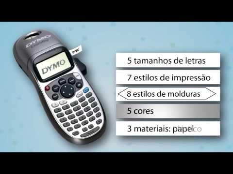 Linha completa DYMO - Etiquetadoras + Impressoras Térmicas - YouTube