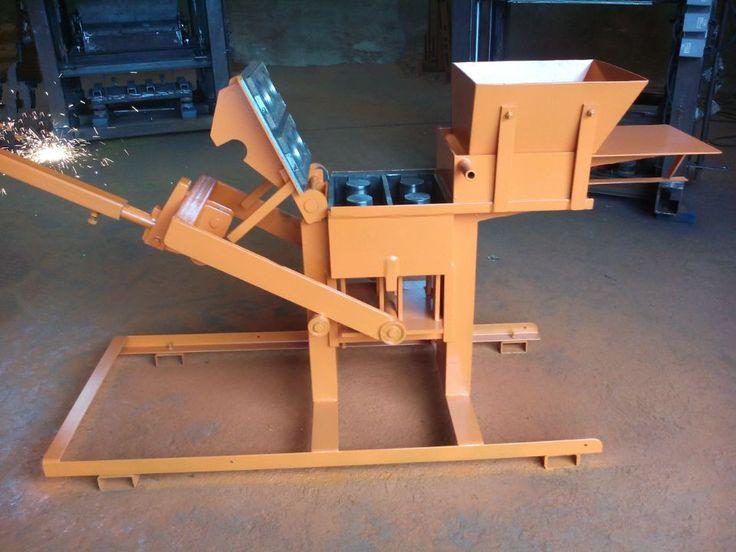 Blocks Interlocking Press Earth Us : Qmr clay brick making machine manual mud interlock