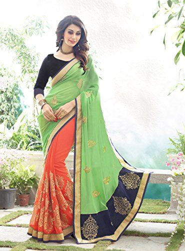 Material : Bhagalpuri (5.5 mtr + 0.80 Mtr=6.30 mtr) Lifestyle : Party Wear Content: 1 Saree with 1 Blouse Piece