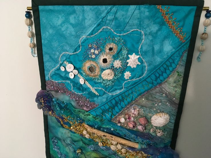 Detail of Treasures from the seashore by Margaret Roberts