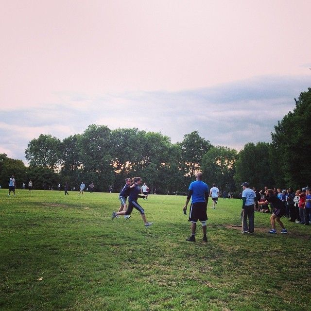 office baseball tournament at regents park!