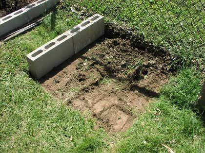 33 Best Images About Concrete Block Raised Bed Gardening 640 x 480