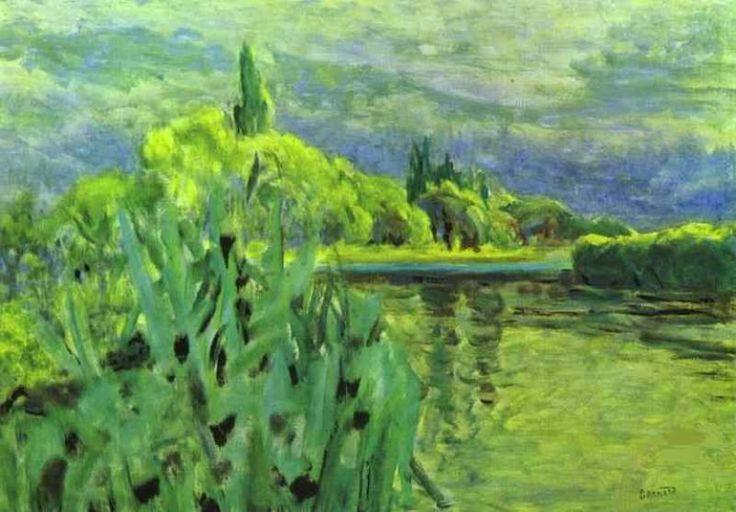 Пьер Боннар. Зелень