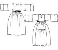 Folkwear Pattern #107 - Afghan Nomad dress