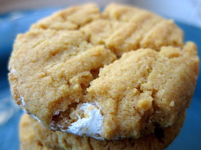 Gluten Freedom: Flourless Fluffer Nutter Cookies