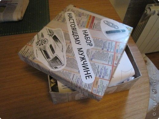 Декор предметов Упаковка День рождения Аппликация обрывная Коллаж Идея творческого подарка мужчине/женщине - универсальный набор Бумага Картон фото 2