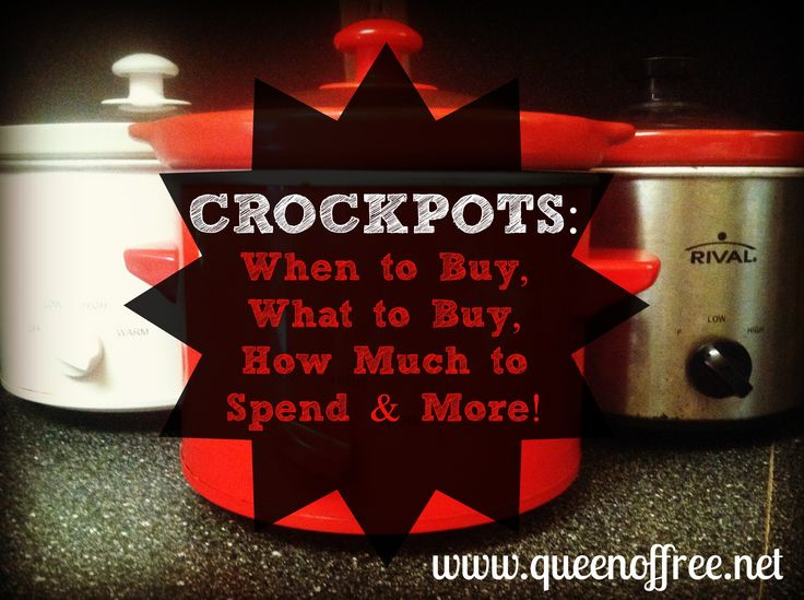 Welcome WTHR Weekend Sunrise Viewers: Crockpot Tips