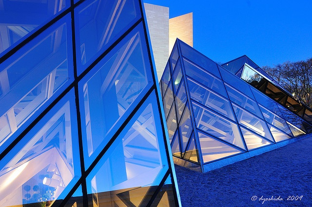 Blue Pyramids of DC - National Gallery of Art by dyoshida, via Flickr