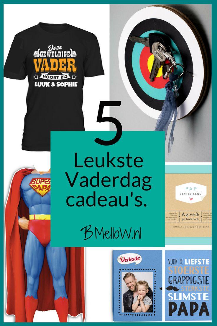 Leukste Vaderdag cadeau's. Van erg leuk tot niet zo aller daags.BMelloW.nl