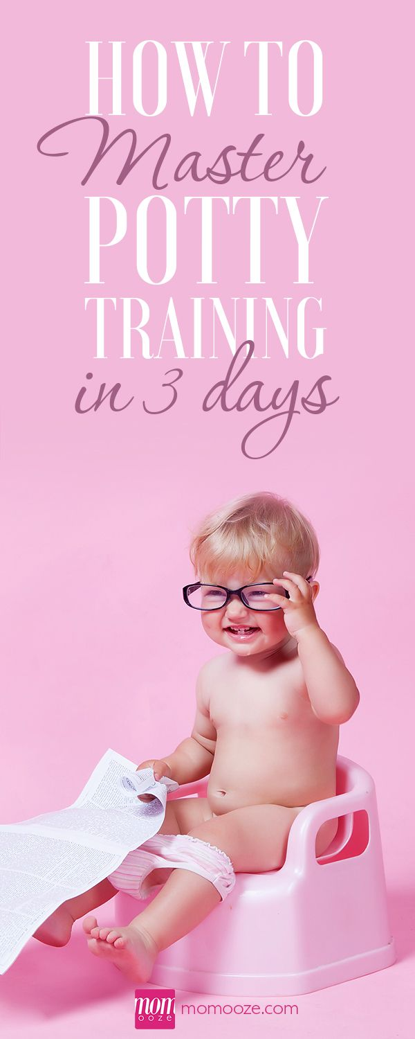 How to Master Potty Training in 3 Days #pottytraining #kids #potty