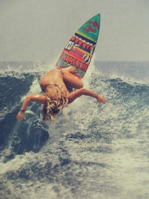 awesome surf board <3