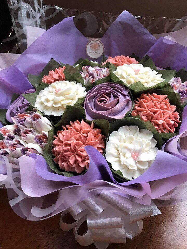 334 best Cupcake Bouquets images on Pinterest   Petit fours, Baking ...