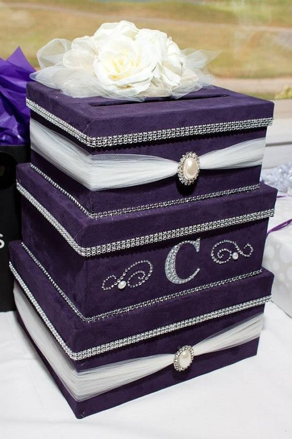 39 best Card Boxes for Weddings images on Pinterest | Wedding ...