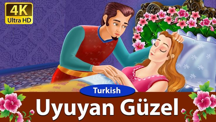 Uyuyan Güzel - Peri Masalları - 4K UHD - Turkish Fairy Tales - türkçe pe...
