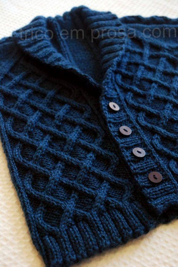 blog tricô em prosa - cardigã do vovô para o bebê - Cardigã Gramps [] #<br/> # #Ems,<br/> # #Knitting,<br/> # #Of #Agujas<br/>