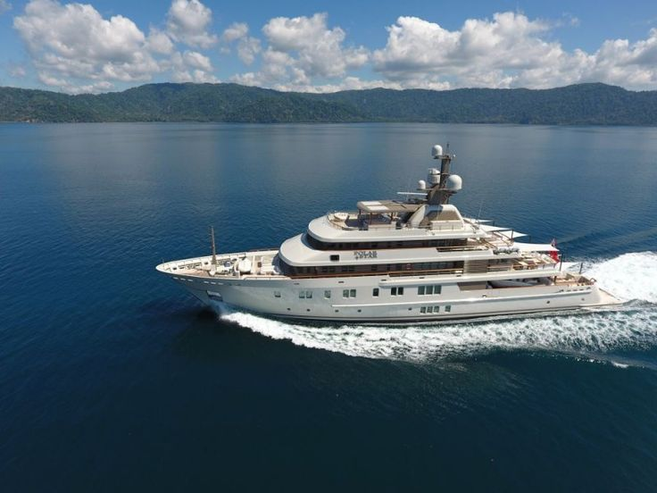 Check out the Remarkable Refit on Lurssen's Polar Star Superyacht