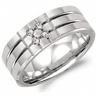 Crown Ring - Collections Wedding Bands Diamond Bands Wb 8168 M10