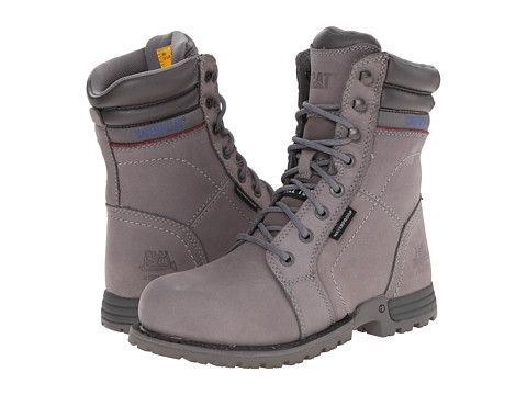 GOING TO BUY USING WORK REIMBURSEMENT - Caterpillar Echo Waterproof Steel Toe Frost Grey - Zappos.com Free Shipping BOTH Ways